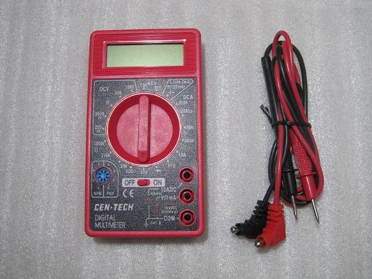 Cen Tech Digital Multimeter : A digital multimeter centech function